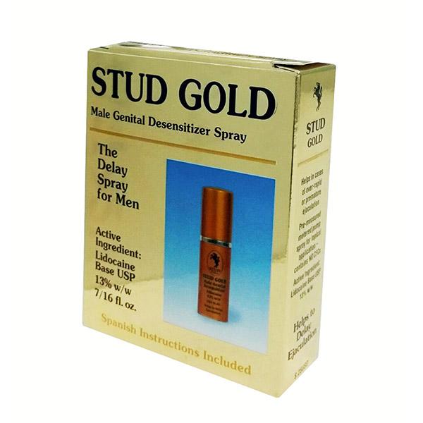 stud gold men delay spray