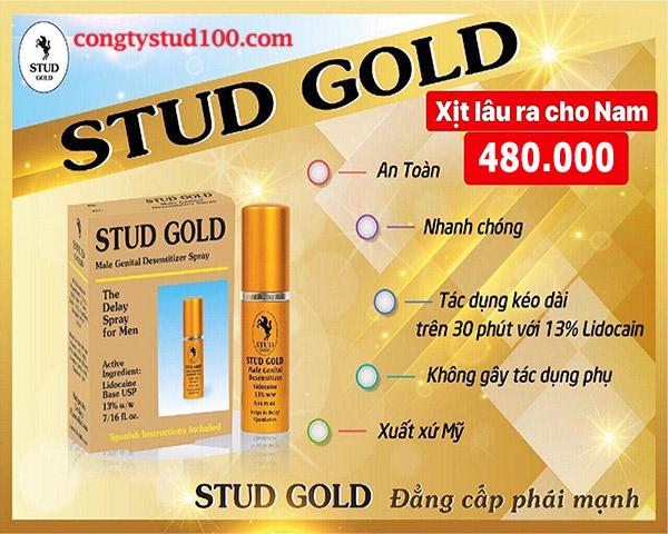 stud gold chính hãng